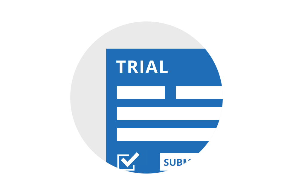 Request trial license